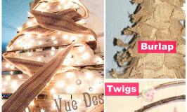 DIY Rustic Christmas Trees