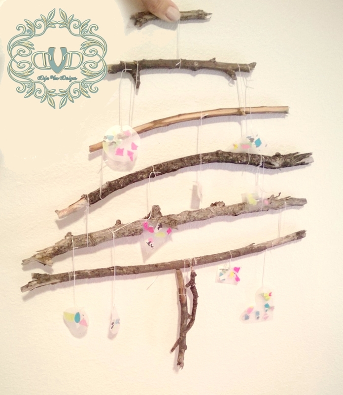 Twig Tree with Ornaments