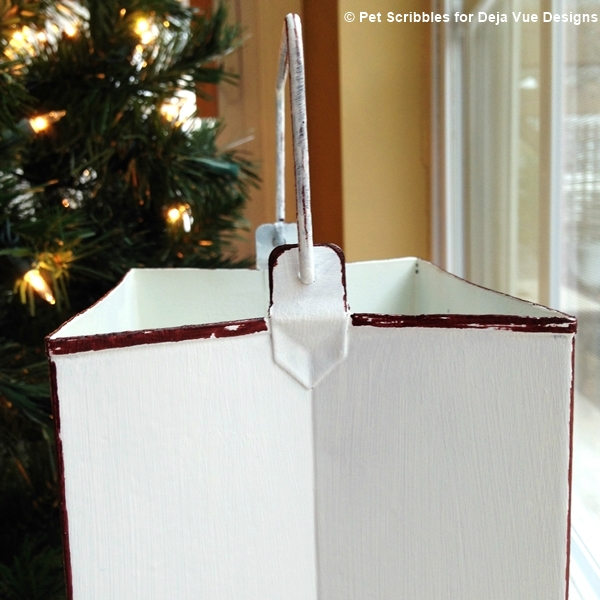 Holiday Tin Luminary Makeover