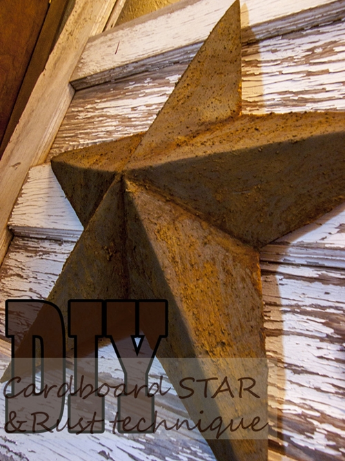 2014 year in review: cardboard star DIY