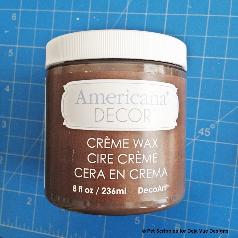 Americana Decor brown creme wax