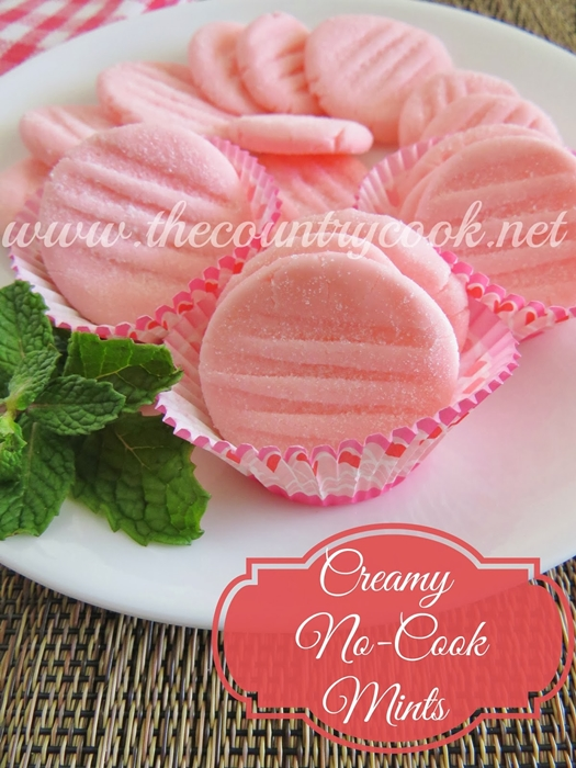 Creamy No-Cook Mints recipe by The Country Cook