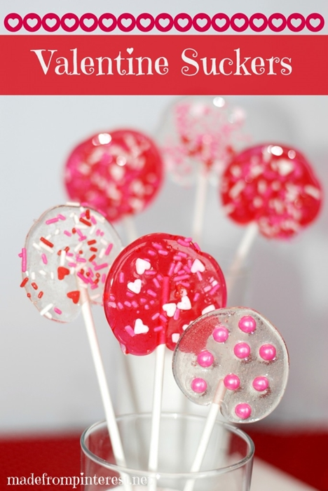 Valentine Suckers recipe by Made From Pinterest