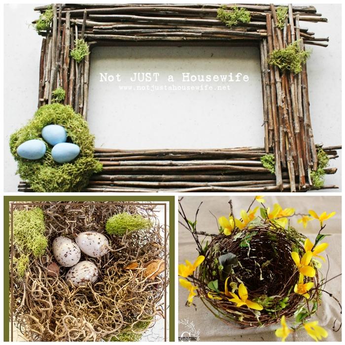 Spring Birds Nest DIYs