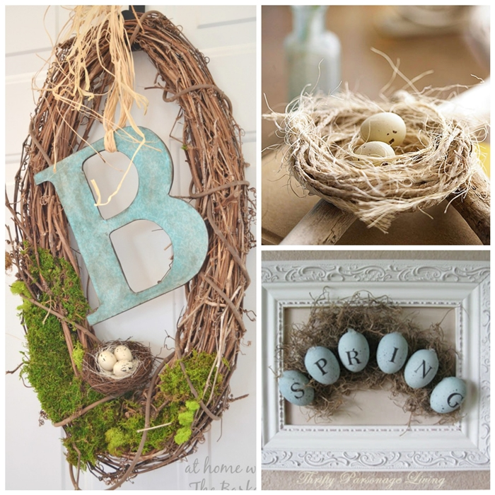 Unique DIY Bird Nests