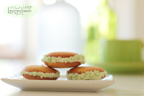 Vanilla Wafer St. Patricks Day Cookies Recipe | Homework