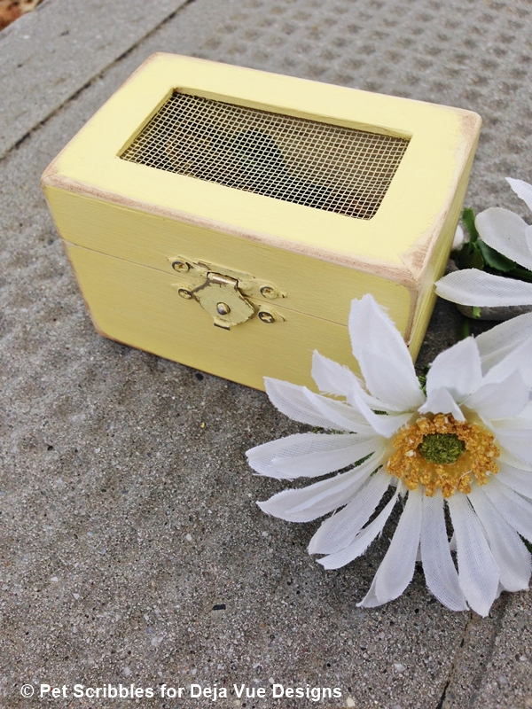 keepsake wood box wedding favor