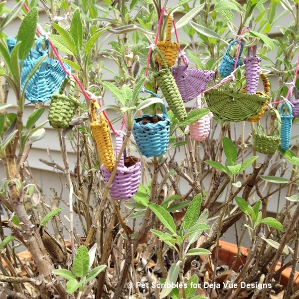 Fairy Garden Basket Garland