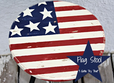 Flag Stool Redo | I Gotta Try That