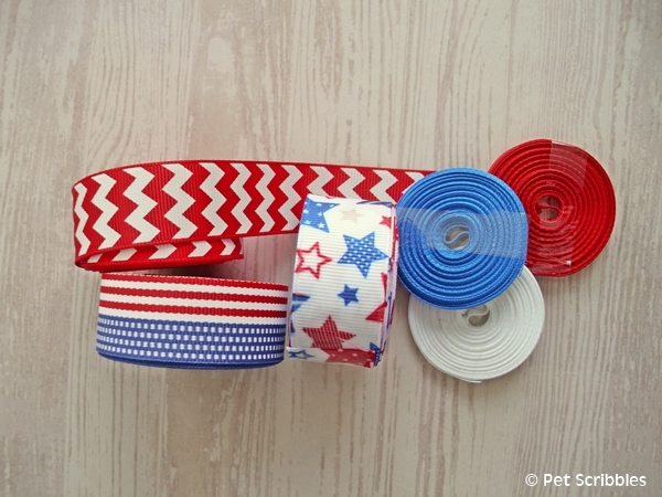 Patriotic Ribbons from The Ribbon Retreat