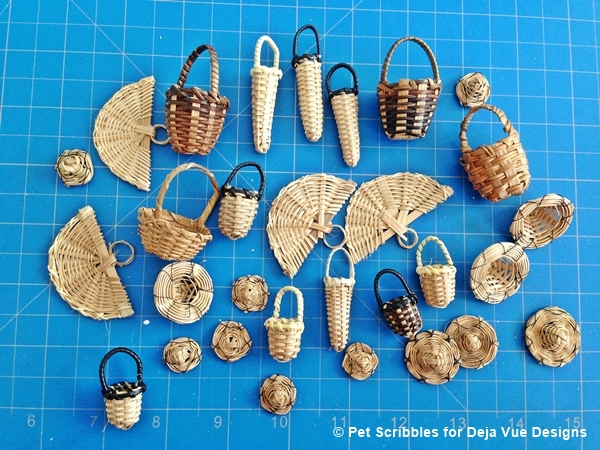 miniature baskets