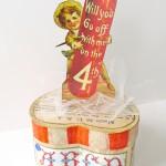July 4th Craft: Vintage Patriotic Decor