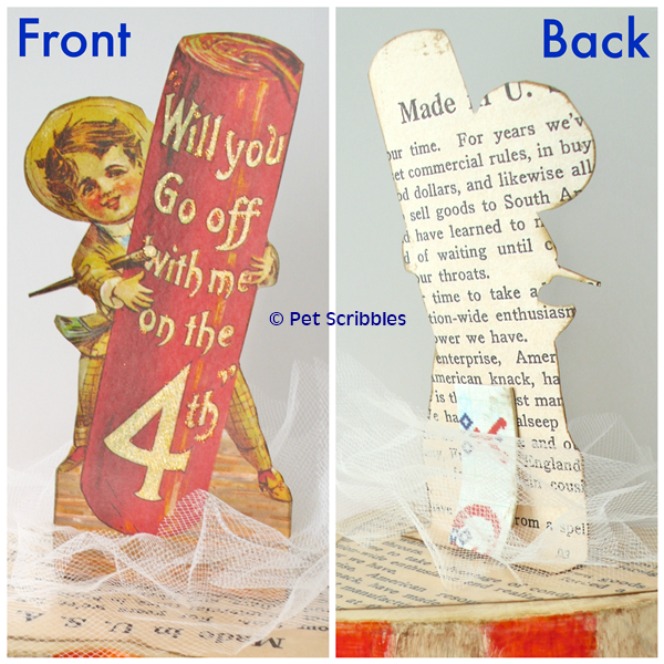 July 4th Craft - front and back