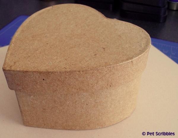 July 4th Craft - paper mache box