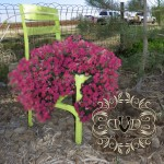 Chair Affair (Flowerpot chair and decorating with junk)
