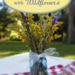 Taming of the Wild (arranging wildflowers)