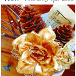 Winter Victorian Paper Cone Craft
