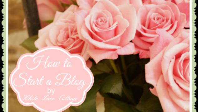 How to Start a Blog at Dejavue Designs