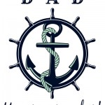 Anchor Father's Day Printable