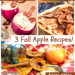 3 Fall Apple Recipes: flautas, chips, cider
