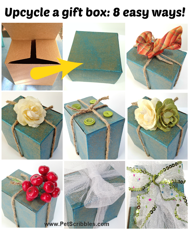 Decorate gift box ideas 8 easy ways deja vue designs for How to decorate home in simple way