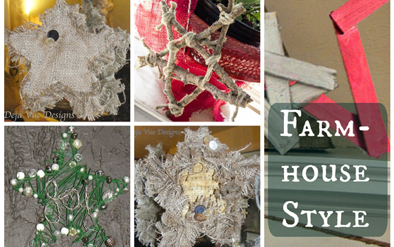 DIY Farmhouse Style Stars